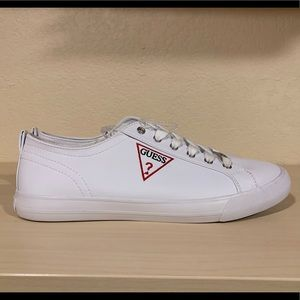 White Guess Catching Sneakers